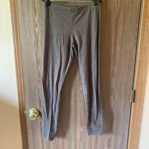 Lauren Conrad brown leggings